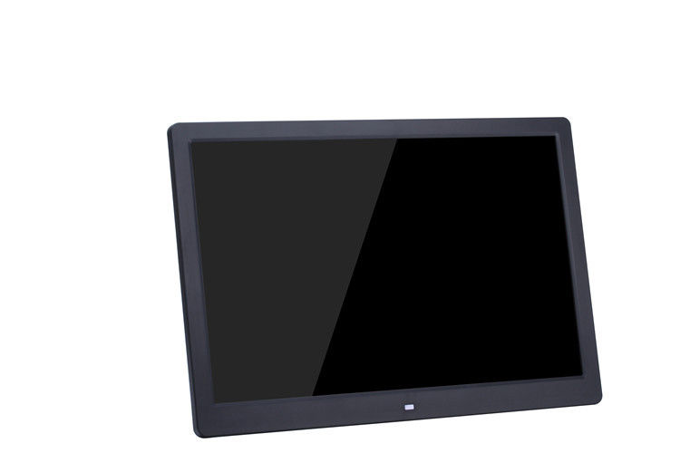 Plastic Case 15.6 Inch Slim LCD Digital Photo Frame Wall Mountable