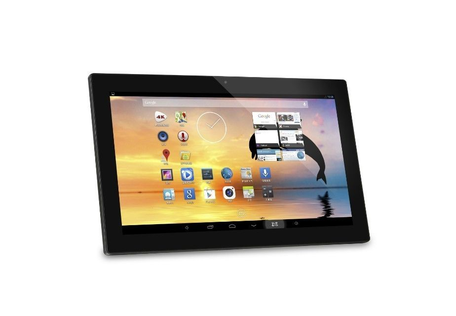 Personalized 18.5 Inch Capacitive Touch Screen Digital Photo Frames 400cd/m2